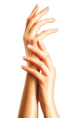 שיפור מראה עור גב היד